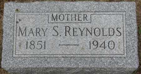 REYNOLDS, MARY S. - Dixon County, Nebraska | MARY S. REYNOLDS - Nebraska Gravestone Photos