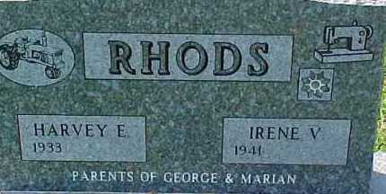 RHODS, HARVEY E. - Dixon County, Nebraska | HARVEY E. RHODS - Nebraska Gravestone Photos