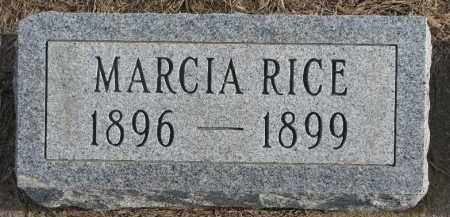 RICE, MARCIA - Dixon County, Nebraska | MARCIA RICE - Nebraska Gravestone Photos
