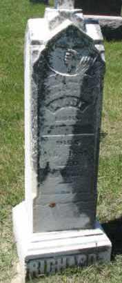 RICHARD (S), MARY - Dixon County, Nebraska   MARY RICHARD (S) - Nebraska Gravestone Photos