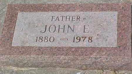 RICHARDS, JOHN EDDY - Dixon County, Nebraska | JOHN EDDY RICHARDS - Nebraska Gravestone Photos