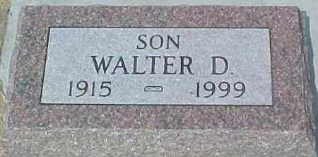 RICHARDS, WALTER DALE - Dixon County, Nebraska | WALTER DALE RICHARDS - Nebraska Gravestone Photos