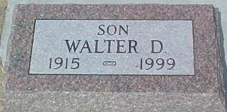 RICHARDS, WALTER DALE - Dixon County, Nebraska | WALTER DALE RICHARDS - Nebraska Gravestone Photos
