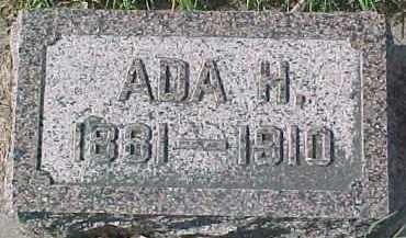 RING, ADA H. - Dixon County, Nebraska | ADA H. RING - Nebraska Gravestone Photos