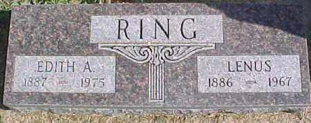 RING, LENUS - Dixon County, Nebraska | LENUS RING - Nebraska Gravestone Photos