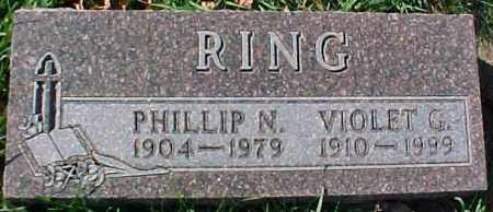RING, PHILLIP N. - Dixon County, Nebraska | PHILLIP N. RING - Nebraska Gravestone Photos