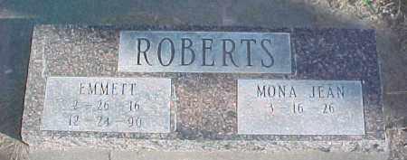 ROBERTS, EMMETT - Dixon County, Nebraska | EMMETT ROBERTS - Nebraska Gravestone Photos