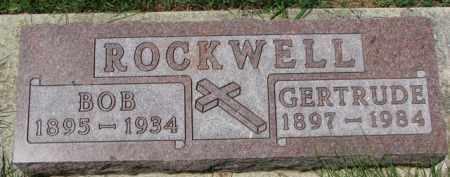 ROCKWELL, GERTRUDE - Dixon County, Nebraska   GERTRUDE ROCKWELL - Nebraska Gravestone Photos