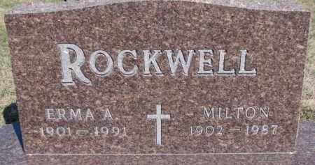 ROCKWELL, MILTON - Dixon County, Nebraska | MILTON ROCKWELL - Nebraska Gravestone Photos