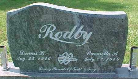 RODBY, CARMELLA A. - Dixon County, Nebraska | CARMELLA A. RODBY - Nebraska Gravestone Photos