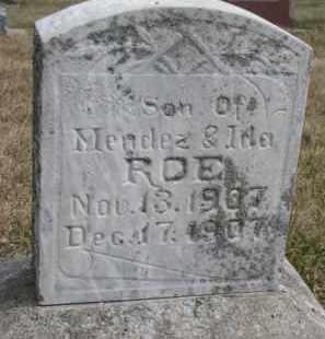 ROE, GEORGE LEVERNE - Dixon County, Nebraska | GEORGE LEVERNE ROE - Nebraska Gravestone Photos