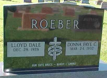 ROEBER, DONNA FAYE C. - Dixon County, Nebraska   DONNA FAYE C. ROEBER - Nebraska Gravestone Photos