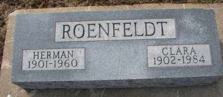 ROENFELDT, CLARA - Dixon County, Nebraska | CLARA ROENFELDT - Nebraska Gravestone Photos