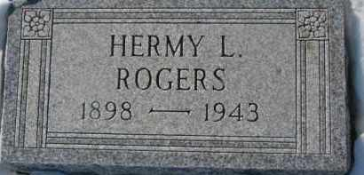 ROGERS, HERMY L. - Dixon County, Nebraska | HERMY L. ROGERS - Nebraska Gravestone Photos