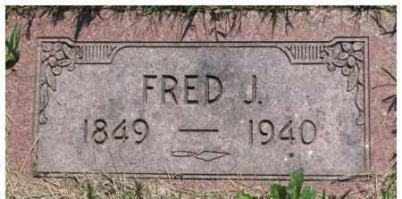 ROGOSCH, FRED J. - Dixon County, Nebraska | FRED J. ROGOSCH - Nebraska Gravestone Photos