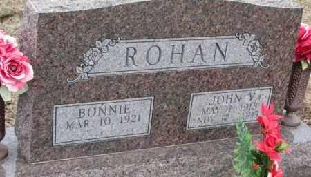 ROHAN, JOHN V. - Dixon County, Nebraska | JOHN V. ROHAN - Nebraska Gravestone Photos