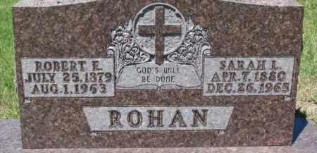 ROHAN, SARAH L. - Dixon County, Nebraska | SARAH L. ROHAN - Nebraska Gravestone Photos