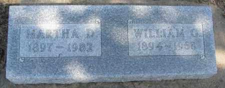 ROHDE, WILLIAM G. - Dixon County, Nebraska | WILLIAM G. ROHDE - Nebraska Gravestone Photos