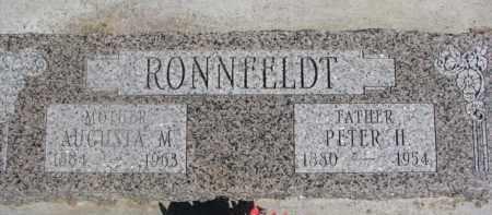 RONNFELDT, PETER H. - Dixon County, Nebraska | PETER H. RONNFELDT - Nebraska Gravestone Photos