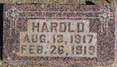 RONNFELDT, HAROLD - Dixon County, Nebraska   HAROLD RONNFELDT - Nebraska Gravestone Photos