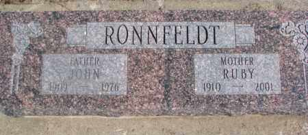 RONNFELDT, JOHN - Dixon County, Nebraska | JOHN RONNFELDT - Nebraska Gravestone Photos