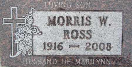 ROSS, MORRIS W. - Dixon County, Nebraska   MORRIS W. ROSS - Nebraska Gravestone Photos
