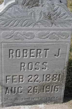 ROSS, ROBERT J. - Dixon County, Nebraska | ROBERT J. ROSS - Nebraska Gravestone Photos