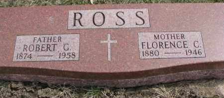 ROSS, ROBERT G. - Dixon County, Nebraska | ROBERT G. ROSS - Nebraska Gravestone Photos