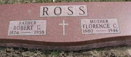 ROSS, FLORENCE C. - Dixon County, Nebraska   FLORENCE C. ROSS - Nebraska Gravestone Photos