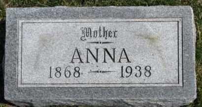 RYAN, ANNA - Dixon County, Nebraska | ANNA RYAN - Nebraska Gravestone Photos