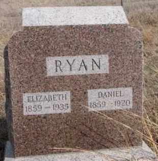 RYAN, ELIZABETH - Dixon County, Nebraska | ELIZABETH RYAN - Nebraska Gravestone Photos