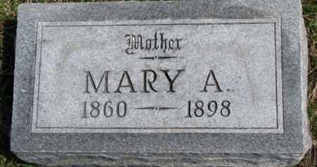 RYAN, MARY A. - Dixon County, Nebraska | MARY A. RYAN - Nebraska Gravestone Photos