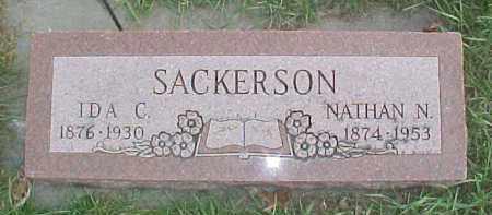 SACKERSON, IDA C. - Dixon County, Nebraska   IDA C. SACKERSON - Nebraska Gravestone Photos