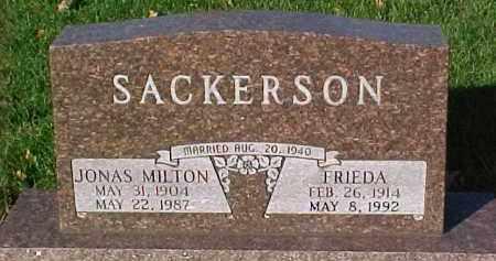 SACKERSON, JONAS MILTON - Dixon County, Nebraska | JONAS MILTON SACKERSON - Nebraska Gravestone Photos