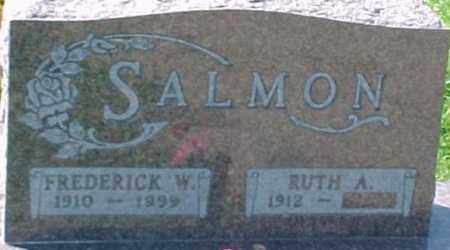 SALMON, FREDERICK W. - Dixon County, Nebraska | FREDERICK W. SALMON - Nebraska Gravestone Photos
