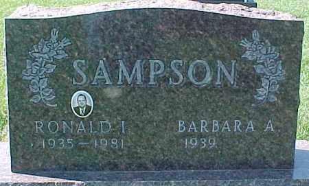 SAMPSON, BARBARA A. - Dixon County, Nebraska | BARBARA A. SAMPSON - Nebraska Gravestone Photos