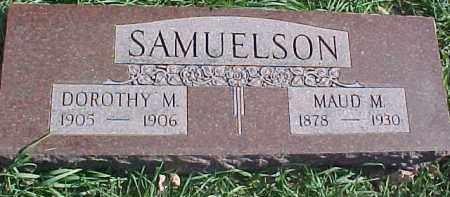 COOPER SAMUELSON, MAUD M. - Dixon County, Nebraska | MAUD M. COOPER SAMUELSON - Nebraska Gravestone Photos