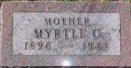 SANDAHL, MYRTLE C. - Dixon County, Nebraska | MYRTLE C. SANDAHL - Nebraska Gravestone Photos