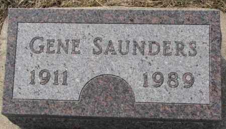 SAUNDERS, GENE - Dixon County, Nebraska | GENE SAUNDERS - Nebraska Gravestone Photos
