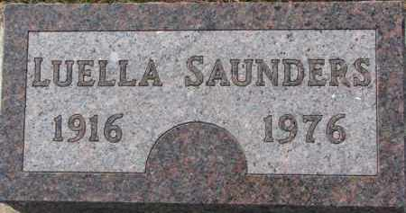 SAUNDERS, LUELLA - Dixon County, Nebraska | LUELLA SAUNDERS - Nebraska Gravestone Photos