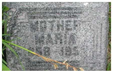 SCHEFFEL, MARIA - Dixon County, Nebraska   MARIA SCHEFFEL - Nebraska Gravestone Photos