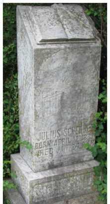 SCHERNER, JULIUS - Dixon County, Nebraska | JULIUS SCHERNER - Nebraska Gravestone Photos