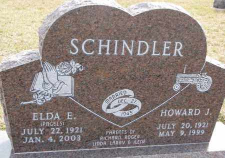 SCHINDLER, ELDA E. - Dixon County, Nebraska | ELDA E. SCHINDLER - Nebraska Gravestone Photos