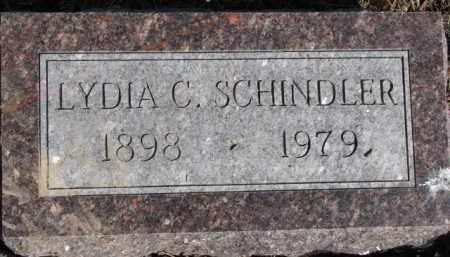 SCHINDLER, LYDIA C. - Dixon County, Nebraska | LYDIA C. SCHINDLER - Nebraska Gravestone Photos