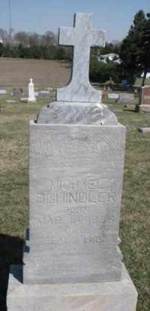 SCHINDLER, MICHAEL - Dixon County, Nebraska | MICHAEL SCHINDLER - Nebraska Gravestone Photos