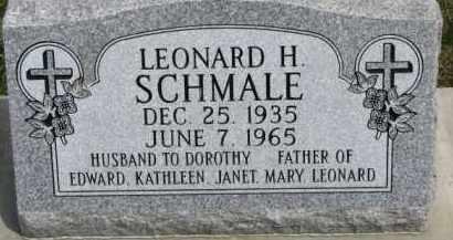 SCHMALE, LEONARD H. - Dixon County, Nebraska | LEONARD H. SCHMALE - Nebraska Gravestone Photos