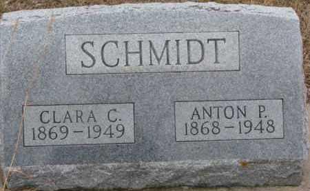 SCHMIDT, ANTON P. - Dixon County, Nebraska | ANTON P. SCHMIDT - Nebraska Gravestone Photos