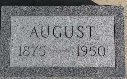SCHROEDER, AUGUST - Dixon County, Nebraska | AUGUST SCHROEDER - Nebraska Gravestone Photos