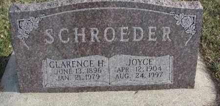SCHROEDER, JOYCE - Dixon County, Nebraska | JOYCE SCHROEDER - Nebraska Gravestone Photos
