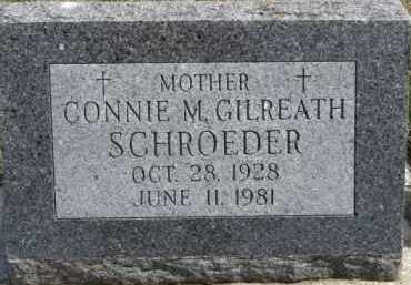 SCHROEDER, CONNIE M. - Dixon County, Nebraska | CONNIE M. SCHROEDER - Nebraska Gravestone Photos